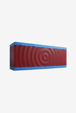 Bohm SoundBlock Bluetooth Wireless Stereo Speaker Blue & Red