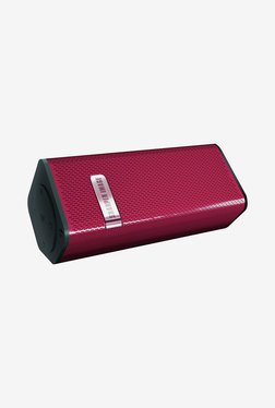 Sharper Image SBT60 Bluetooth Speaker With Microphone (Red)
