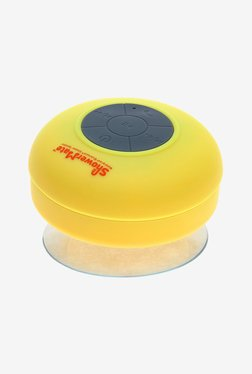 Shower-Mate s4 Water Resistant Bluetooth Speaker (Yellow)