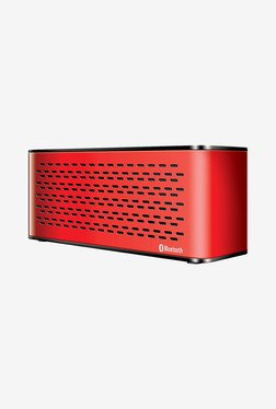 Isound Sonic Waves Bluetooth Speaker (Red)
