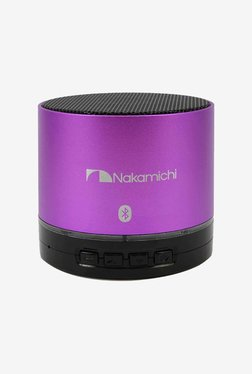 Nakamichi BT05S Series Bluetooth Round Speaker (Purple)