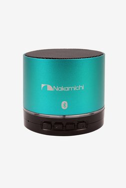Nakamichi BT06S Series Bluetooth Round Speaker (Emerald)