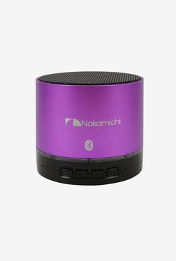 Nakamichi BT06S Series Bluetooth Round Speaker (Purple)