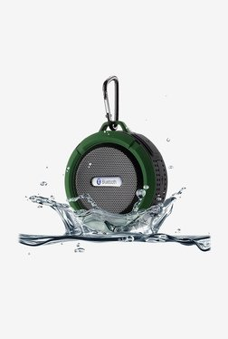 Afunta IP65 Portable Waterproof Bluetooth Speaker (Green)