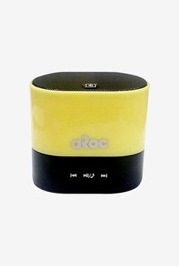 Aroc Electronics BTS-600 Bluetooth Speaker (Yellow)