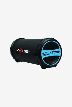 Axess SPBT1031 Bluetooth Hi-Fi Cylinder Loud Speaker (Blue)