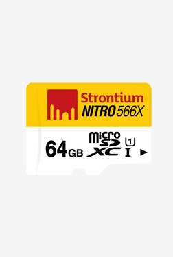 Strontium 64 GB 85MB/s Class 10 Nitro Micro SD Card Only
