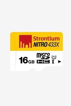 Strontium 16 GB 65MB/s Class 10 Nitro Micro SD Card Only