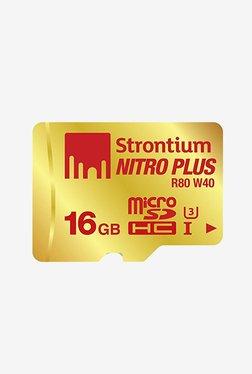 Strontium 16 GB MicroSD Nitro Plus UHS-I With Adaptor&Reader