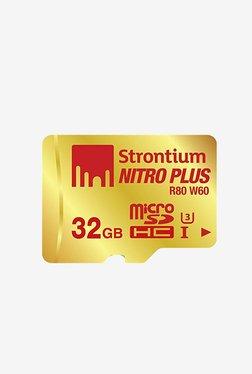 Strontium 32 GB MicroSD Nitro Plus UHS-I With Adaptor&Reader
