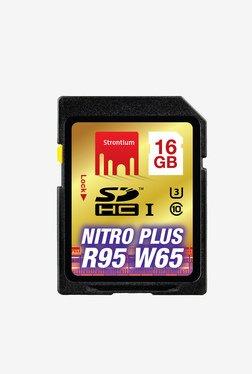 Strontium 16 GB Nitro Plus SDHC UHS-1 Support 4K Memory Card