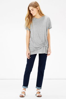 Warehouse Light Grey Solid Top