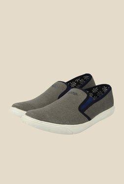 Spunk Scorpius Grey Canvas Shoes