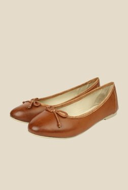 Spunk Amuse Brown Ballerinas