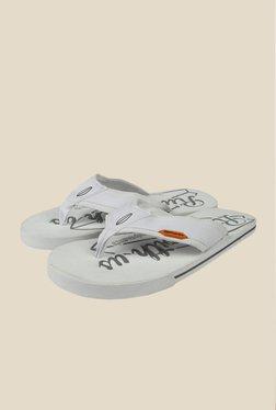 Spunk Rider White Flip Flops
