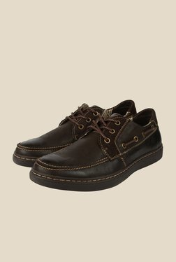 Spunk Bentley Dark Brown Boat Shoes