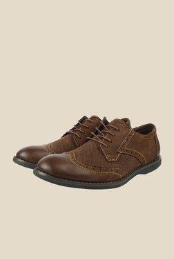 Spunk Aston Coffee Brogue Shoes
