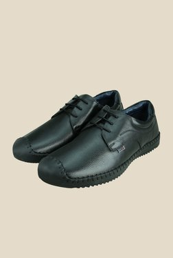Arrow Black Derby Casual Shoes