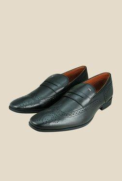 Arrow Black Brogue Formal Shoes