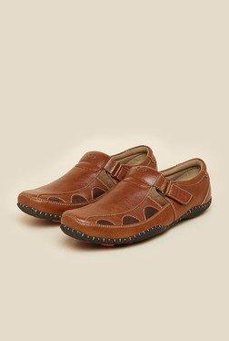 BCK By Buckaroo Rebecon Tan Sandals