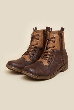 BCK by Buckaroo Roqe Brown Boots