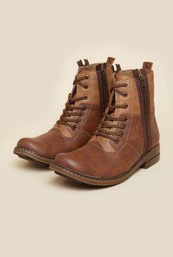 BCK By Buckaroo Roqe Tan Boots