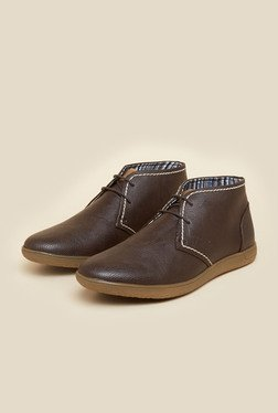 BCK By Buckaroo Amado Brown Ankle Length Shoes