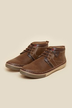 BCK By Buckaroo Hillar Chickoo Casual Shoes