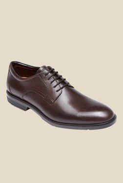 Rockport City Smart Dark Chocolate Derby Shoes