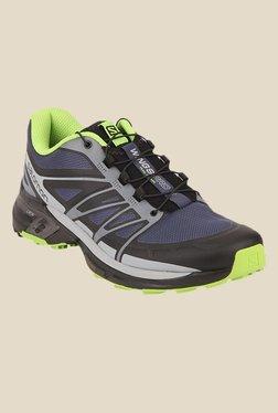 Salomon Wings Pro 2 Slate Blue & Grey Sports Shoes