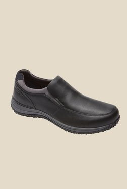 Rockport Walk 360 Black Slip-Ons