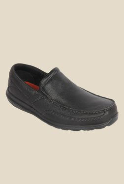 Rockport Modern Adventure Black Slip-Ons