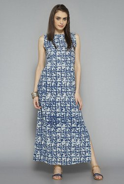 Bombay Paisley by Westside Indigo Printed Maxi Dress