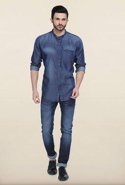 Basics Drift Fit Mood Indigo Stretch Jeans