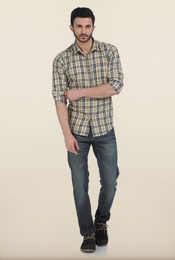 Basics Drift Fit Sand Storm Navy Stretch Jeans