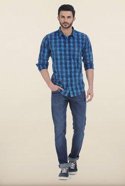 Basics Drift Fit True Navy Stretch Jeans