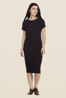 Femella Black Midi Dress