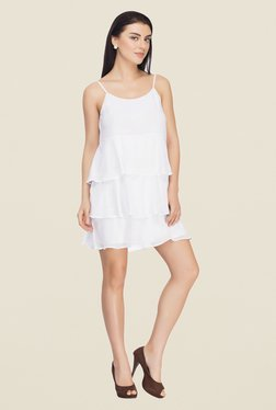 Femella White Shift Dress
