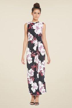 Globus Black Floral Maxi Dress