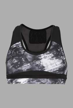 Doone Black Tie Dye Training Top