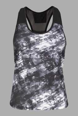Doone Black Tie Dye Training Singlet