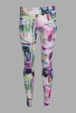 Doone Multicolor Printed Training Pants