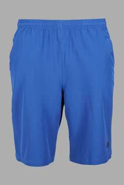 Doone Blue Solid Training Shorts