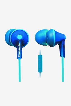 Panasonic RP-TCM125E-A In The Ear Headphones (Blue)