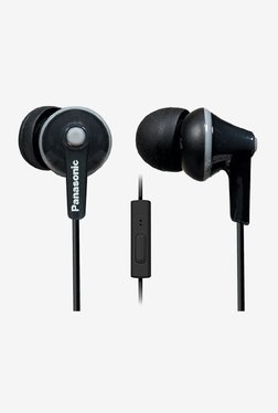 Panasonic RP-TCM125E-K In The Ear Headphones (Black)