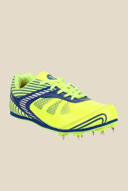 Yepme Yellow & Green Cricket Shoes
