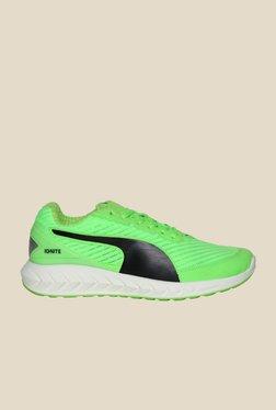 Puma Ignite Ultimate Gecko Green & Black Running Shoes