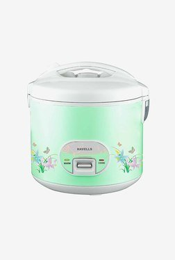 Havells Max Cook Plus 2.8 L 1050 W Electric Cooker (Green)