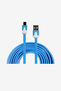 14You 1OTH006 Flat Micro USB Cable (Blue)