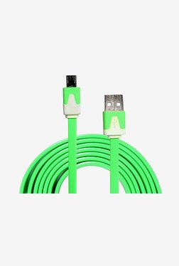 14You 1OTH007 Flat Micro USB Cable (Green)